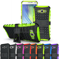 Heavy Duty Shockproof Rugged Armor Case Hybrid Hard Protective Kickstand Cover