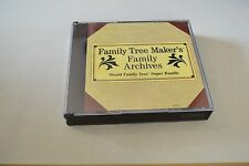 Family Tree Maker's Family Archives World Family Tree Super Bundle B644
