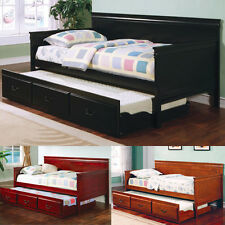Fountain Louis Philippe Bedroom Kid Twin Daybed Day Bed Twin Trundle Solid Wood