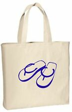 Tote Bag, Beach Tote, Beach Bag, Flip Flops, Party Gifts, Birthday Party Gift
