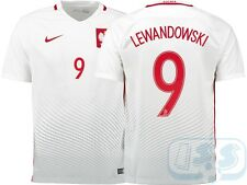 RPOL15p9: Poland home shirt Euro 2016 jersey LEWANDOWSKI official name & number
