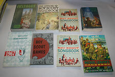 12 VINTAGE 1950'S & 1960'S BOY SCOUT BOOKS AND MANUALS FREE SHIPPING
