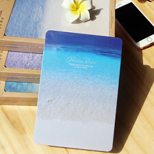 144 pages Iron Cover Ocean Notebook Diary Book Travel Journal Planner