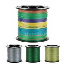500M Fishing Line 20LB to 60LB Strong Multifilament Polyethylene Braided W0R9