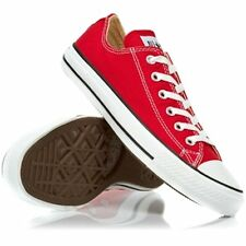 Converse Chuck Taylor All Star Low Tops Red All Sizes Mens Sneakers Shoes