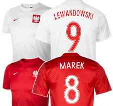 POLAND Supporters Jersey + Your Name & Number! Official Nike Fan Tee! Euro 2016
