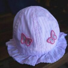 Brand New Baby Girl Kid Child Toddler Cotton Bucket Sun Cap Hat Sunhat Sizes