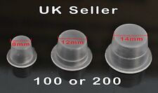 Disposable Plastic Tattoo Ink Pigment Caps Cups Holders Pots Premium UK Stock