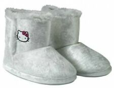 HELLO KITTY SILVER SLIPPER BOOTS - BRAND NEW WITH LABELS