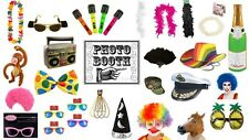 Photo Booth Props Party Fun Birthday Hen Stag Clown Rainbow Hat Boa Fancy Dress