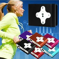 Fashion USB Clip Mini MP3 Player Support 32GB Micro SD TF Card Sport Music Media