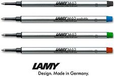 Lamy M63 Rollerball Pen Refills - All Colours & Multiple Quantities Available