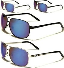 NEW SUNGLASSES DESIGNER AVIATOR RETRO VINTAGE LARGE MENS LADIES BLACK UV400