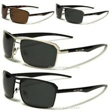 X-LOOP SUNGLASSES NEW MENS BLACK POLARIZED UV400 DRIVING FISHING GLASSES 511