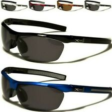X-LOOP SUNGLASSES NEW MENS LADIES BLACK POLARIZED LENS BIG WRAP DRIVING FISHING