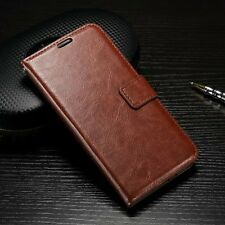 Luxury PU Leather Wallet Flip Cover Stand Case For Huawei Ascend P9