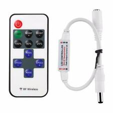 Mini LED Controller Dimmer + RF Wireless Remote Control for 5050 3528 LED Strip