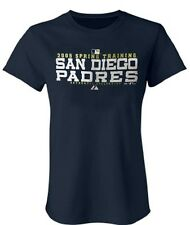 San Diego Padres MLB Girls Majestic 2005 Spring Training Shirt Navy Youth Sizes