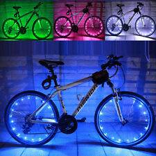 2M/20LED Motorcycle Cycling Bike Bicycle Hot Wheels Spoke Flash Light Lamp Color