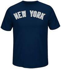 New York Yankees MLB Always Practice Mens Synthetic Crewneck Shirt Big Sizes