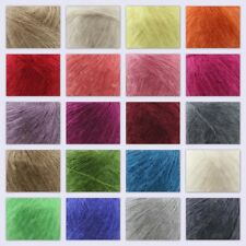 Sale 1 ball soft LACE MOHAIR 50% Angora goats Cashmere 50% silk Yarn Knitting