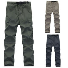 Men Summer Overalls Military Pants Outdoor Waterproof Climbing Hiking Trousers