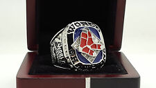 2007 Boston Red Sox world series championship ring 11s solid back