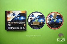 Chase The Express Playstation 1 PS1 PAL Original Game + Works On PS2 & PS3