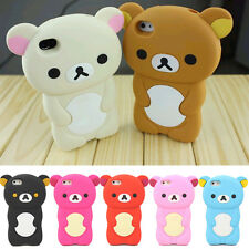 Soft Silicone Case Cover 3D Bear Gel Rubber For Apple Iphone 5C 5 5S Accessory