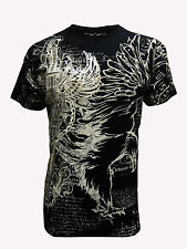 Konflic Nwt Men's Giant Striking Eagle Grapic MMA Muscle Shirts(S/#724)