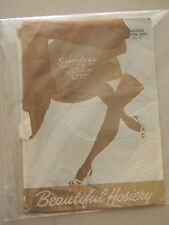 Beautiful Hosiery Seamless Stockings/Nylons- Ultra Beige- Size 10 - 1 pair