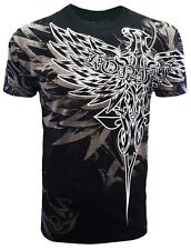 Konflic Nwt Men's Giant FlyingEagle Grapic MMA Muscle Shirts(S/#791)