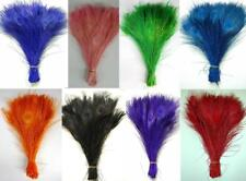 BLEACHED PEACOCK TAIL FEATHERS New Natural Feathers 10-12 Inches Top Quality!!