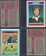TOPPS - FOOTBALL 1976 SCOTTISH RED BACK (NUMBERS 031-060) SELECT YOUR CARD