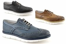 Oxford man sole high background high wedge leather summer spring ITALIAN