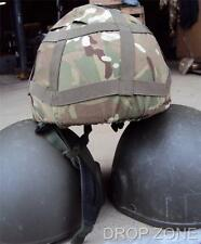 British Military Army Kevlar MK6 Helmet with MTP Cover, Size S or M