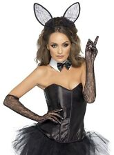 KIT SET DE BUNNY BUNNY PLAYBOY LITTLE EARS GLOVES AND BOW TIE COSTUME EROTIC