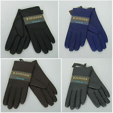 Isotoner gloves womens leather thinsulate lined gloves size 8 NEW