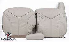 2001 GMC Yukon XL SLT -Driver Side Complete Replacement Leather Seat Covers Tan