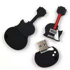 Guitar model 4-32GB USB 2.0 Flash Memory Stick Pen Drive Thumb U Disk Storage KP