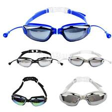 Silicone Seal Swimming Goggles Diving Glasses Anti-fog Waterproof Anti-shatter