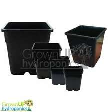 High Quality Square Plant Pots - Various Sizes