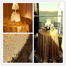 Gold Sequin Tablecloth for Wedding  and Events ,Wholesale ,More Colors Available