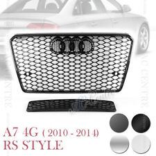 RS7 HONEYCOMB SPORT FRONT MESH GRILLE for AUDI A7 C7 4G 2010-14 4 VERSIONS