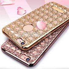 Luxury Bling Crystal Diamond Waterproof Silicone Case Cover for iPhone 5s 6 Plus