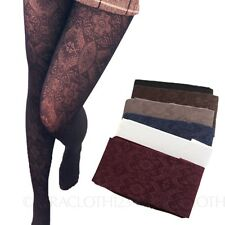 Sexy Womens Hosiery Patterned ladies Spandex Stockings smooth Crochet Pantyhose