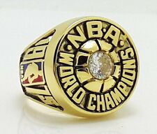 1975 Golden State Warriors Basketball Championship ring BARRY High Quality Solid