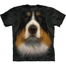 BERNESE MOUNTAIN DOG FACE T-Shirt The Mountain Big Head Mens Sizes S-3XL NEW
