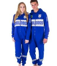 CANTERBURY BULLDOGS NRL TEAM ADULT FOOTBALL FOOTYSUIT UNISEX PYJAMAS