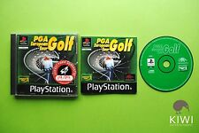 PGA European Tour Golf Sony Playstation PS1 PAL Game + Works On PS2 & PS3